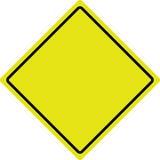 австралийское roadsign Стоковое Изображение RF