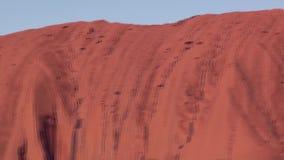 Австралия, захолустье, утес Uluru Ayers акции видеоматериалы