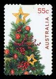 АВСТРАЛИЯ - штемпель почтового сбора стоковое изображение