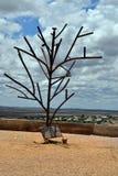 Австралия, Coober Pedy, скульптура Стоковое Фото
