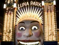 Австралия Luna Park Сидней Стоковое фото RF
