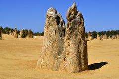 Австралия, WA, башенкы в национальном парке Nambung Стоковое Фото