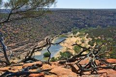 Австралия, WA, национальный парк Kalbarri Стоковые Фото