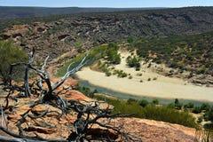 Австралия, WA, национальный парк Kalbarri Стоковые Фотографии RF