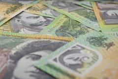 Австралиец 100 банкнот доллара Стоковые Изображения