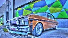 австралиец Форд 1970s Стоковое Изображение