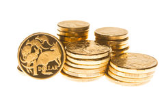 Австралийская валюта Стоковое Изображение