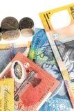 австралийская валюта Стоковое фото RF