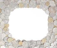Австралийская рамка монетки денег Стоковое фото RF
