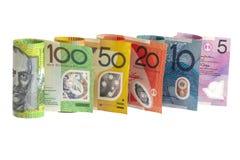 австралийские деньги стоковые изображения rf