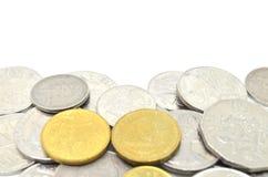 австралийские монетки Стоковая Фотография
