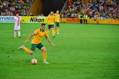 Австралийский футболист стоковое изображение rf