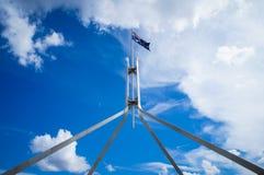 Австралийский флаг Стоковая Фотография RF