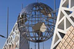 Австралия на декоративном глобусе Стоковые Изображения RF
