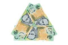 Австралия 100 долларов Стоковые Фотографии RF