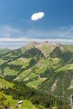 австрийская гора ландшафта Стоковое фото RF