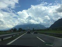 Австрийская сельская местность Стоковое фото RF
