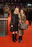 Австрийские актриса и директор Feo Aladag во время Berlinale 2018 Стоковая Фотография
