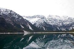 Австрийские горные вершины Стоковое фото RF