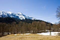 Австрийские горные вершины Стоковые Фото