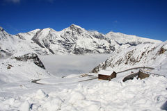 австрийские горы Стоковое Фото