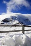австрийские горы Стоковая Фотография