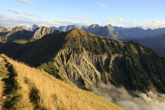 австрийские горы Стоковые Изображения