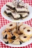 австрийские печенья рождества различные Стоковая Фотография