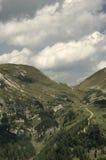Австрийский ландшафт с Альпами Стоковые Изображения RF
