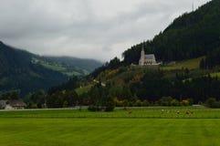 Австрийский ландшафт Стоковые Фото