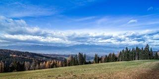 Австрийский ландшафт Стоковая Фотография