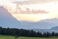 Австрийский взгляд ландшафта стоковые фото