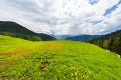 Австрийский ландшафт стоковое изображение