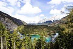 австрийский ландшафт Стоковые Фотографии RF