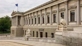 австрийский парламент стоковое изображение