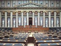 австрийский парламент здания Стоковое Изображение