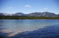 австрийское озеро Стоковая Фотография RF