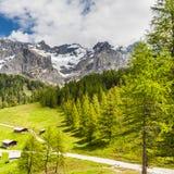 австрийское село стоковое изображение