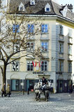 Австрия, вена; Fiaker Стоковая Фотография RF