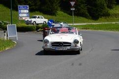 Австрия, винтажный автомобиль Стоковые Фото