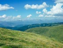 Австрия - высокогорный луг стоковая фотография