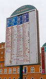 Автобусная остановка в городе Рима - венецианском квадрате Стоковые Фото