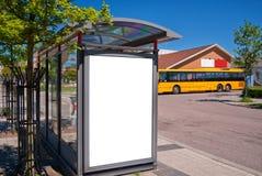 автобусная остановка 01 bastad Стоковые Фото