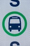 автобусная остановка Стоковое Фото