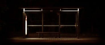автобусная остановка Стоковые Изображения RF