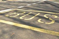 Автобусная остановка Стоковые Фотографии RF