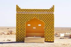 Автобусная станция в Омане стоковое изображение