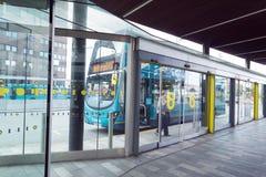 Автобусная станция Ливерпуля Стоковое Изображение