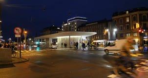 Автобусная станция метро St Norreport видеоматериал