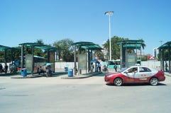 Автобусная станция станции осмотра границы Nantou Стоковое фото RF